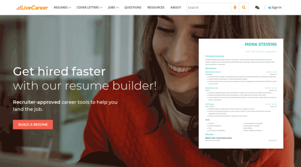 live career resume builder review