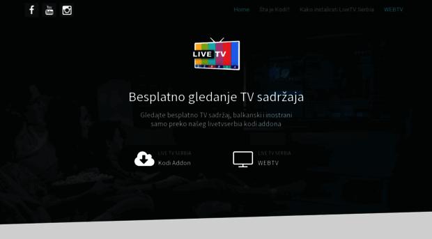 livetvkodiserbia com LiveTV Kodi Serbia
