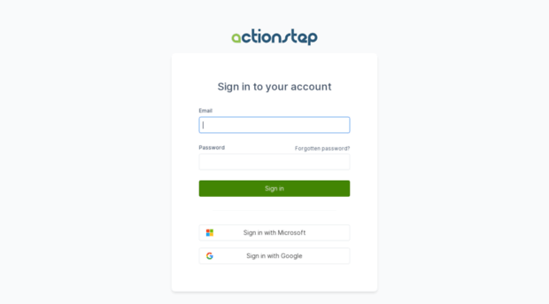 login.actionstep.com