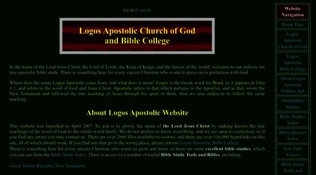 image gallery logos apostolic