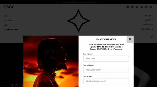 9e25c8c80f lojacaos.com.br - Moda Feminina  Loja Premium