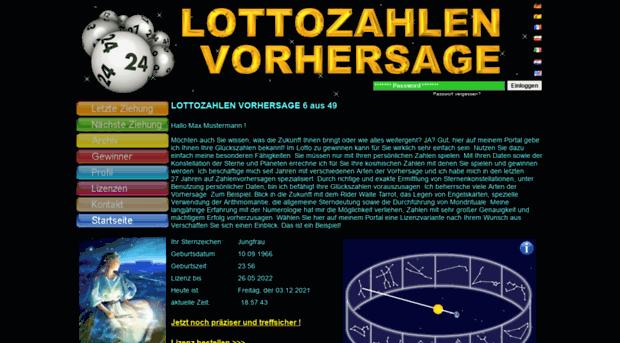 Lotto.De Ergebnisse