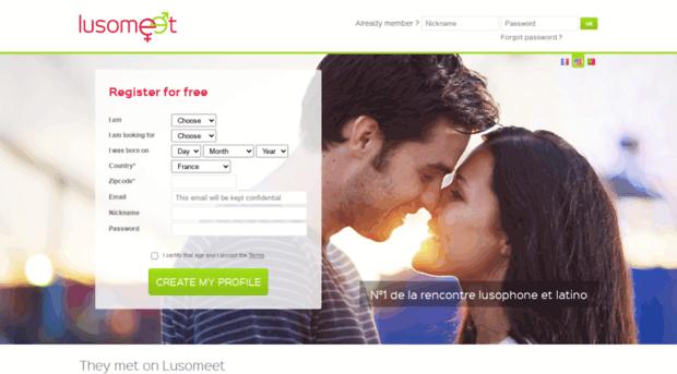 Portuguese dating site