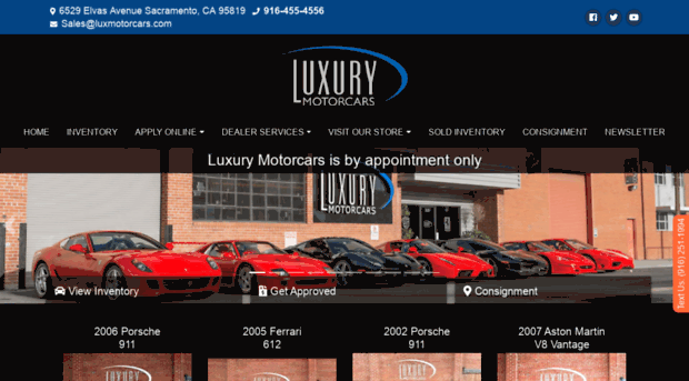 Used cars sacramento ca used lux for Sacramento luxury motors reviews