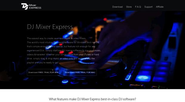 macdjmixer.com - DJ Mixer Express, Easy DJ Mixi... - Mac ...