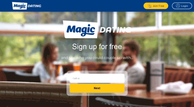 magic dating login