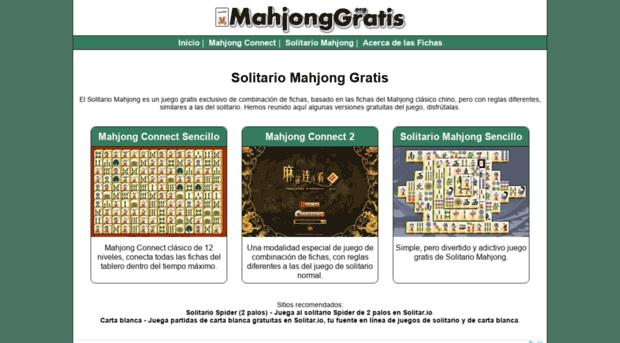 Mahjonggratis Org Mahjong Gratis Juegos De Sol Mahjong Gratis