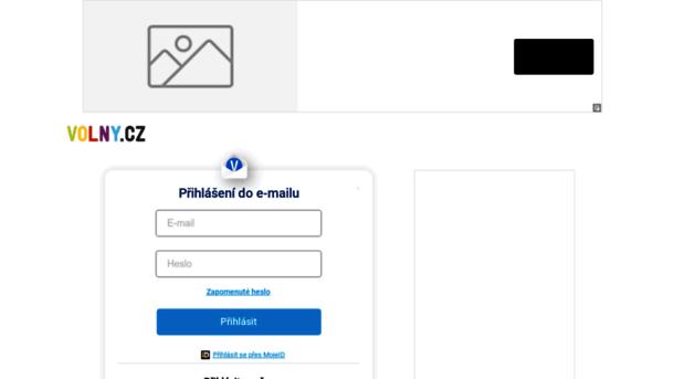 volný.cz mail