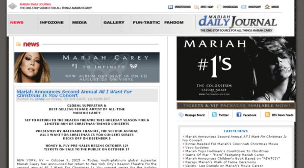 Mariahdaily com