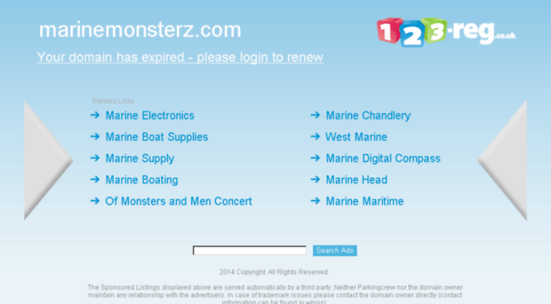marinemonsterz.com