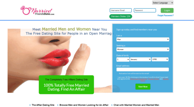 totally free married dating with free email
