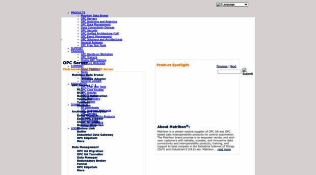 matrikonopc com - OPC Server from MatrikonOPC