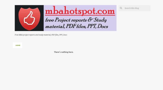 free mba hr projects pdf