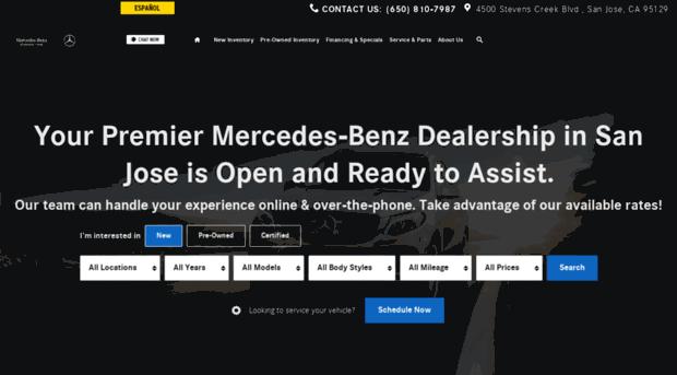 Mercedes Benz Of Stevens Creek | Mercedes Benz Dealer Near Me San Jose.