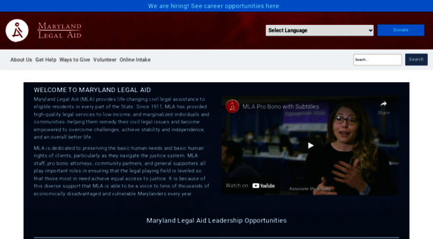 free legal aid and justice