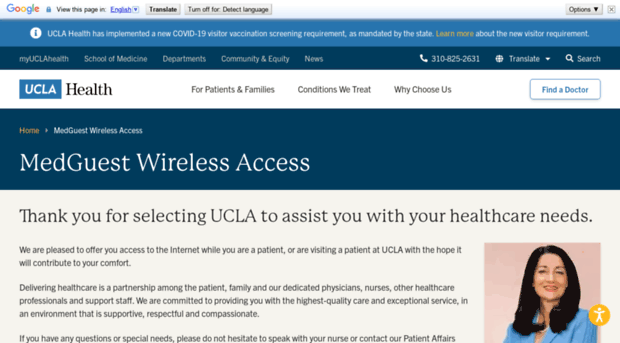 medguest uclahealth org - MEDGUEST Wireless Internet Gue