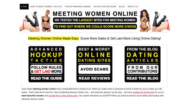 meeting women online