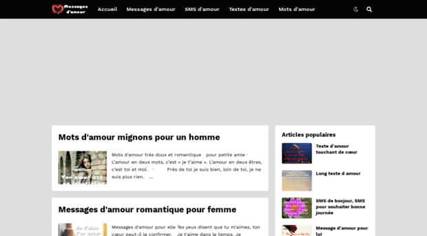 Message Amour Smsblogspotcom Messages Damour Message