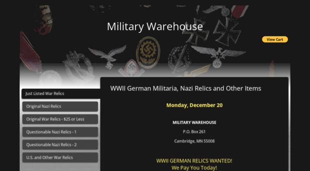 militarywarehouse com - Nazi Relics, WWII German Militaria