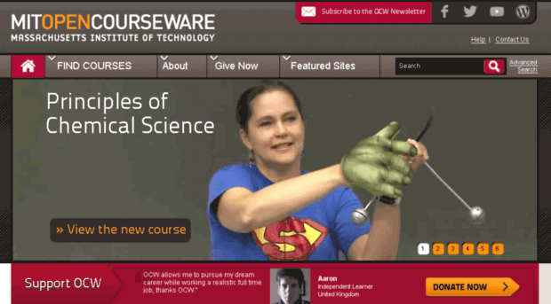 opencourseware finder