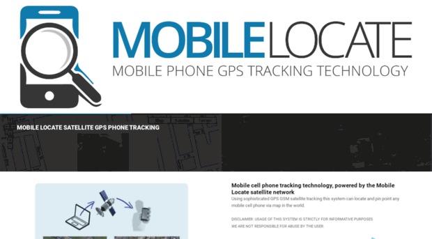 mobilelocate net - Free Mobile Cell Phone Tracker - Trace Location