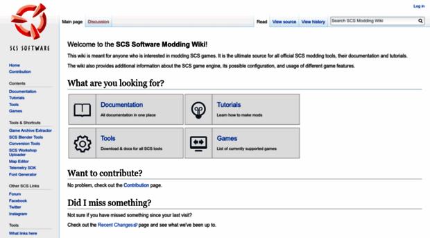 modding scssoft com - SCS Modding Wiki - Modding SCS Soft