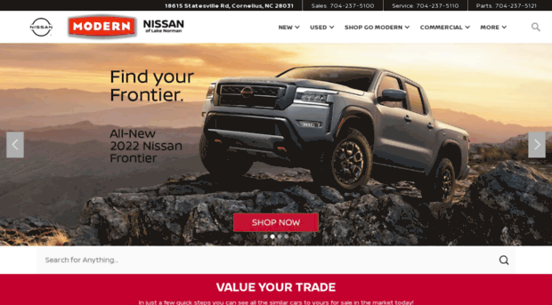 Modern Nissan Of Lake Norman | Charlotte U0026 Gastonia Area Dealer