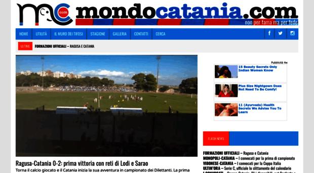 Portale di for Mondo catania