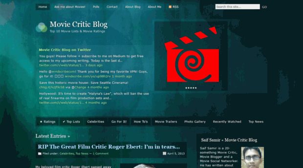 Best movie critic site