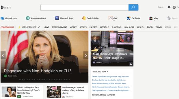 MSN  Outlook Office Skype Bing Breaking News and