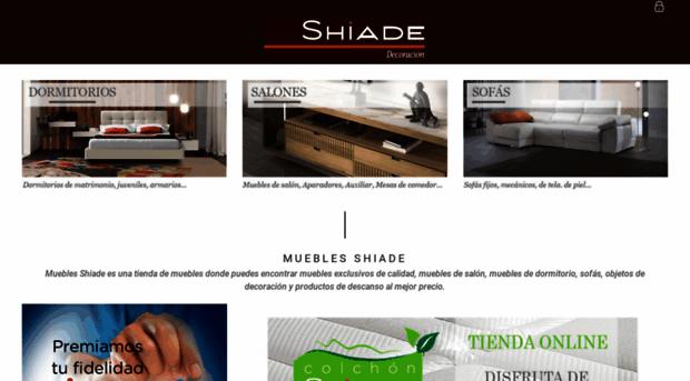 Tienda de muebles online shiad muebles shiade - Shiade sofas ...