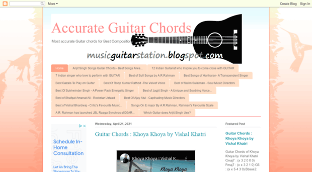musicguitarstation.blogspot.in - Accurate Guitar Chords - Music ...