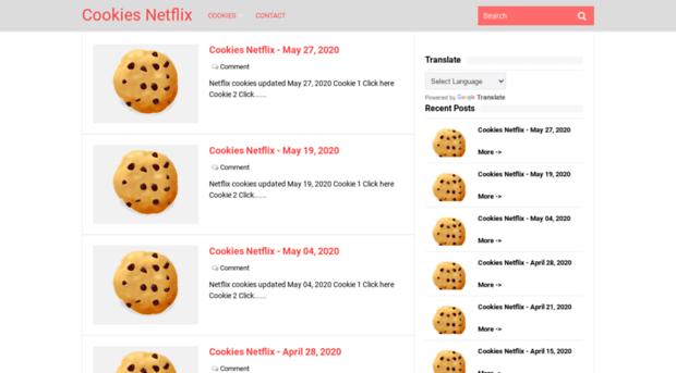 mycookiesfree com - Cookies Netflix - My Cookies Free