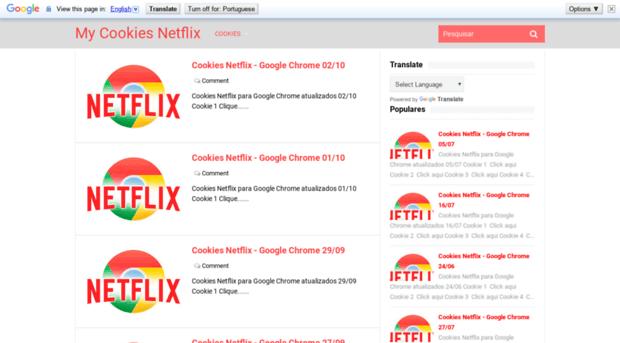 mycookiesfree net - My Cookies Netflix - My Cookies Free