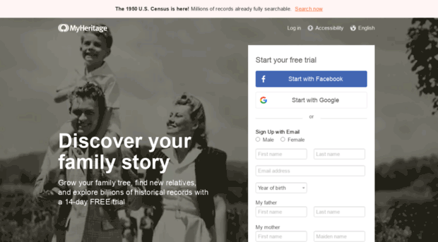 myheritage com free family tree genealogy an my heritage