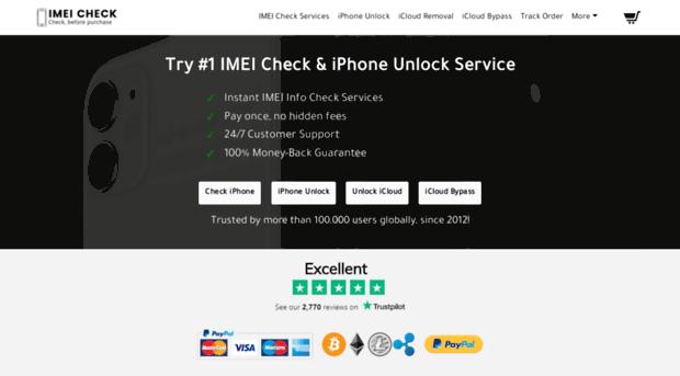 Iphone Imei Unlock Free