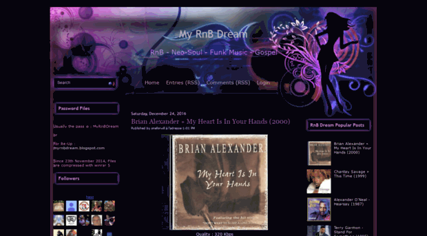 myrnbdream blogspot jp - My RnB Dream - My RnB Dream Blogspot
