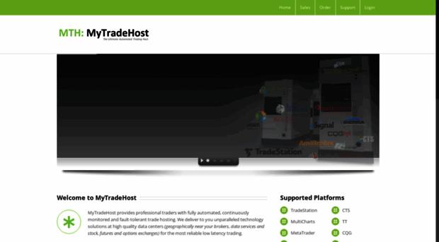 mytradehost com - MyTradeHost VPS Server Hosting    - My