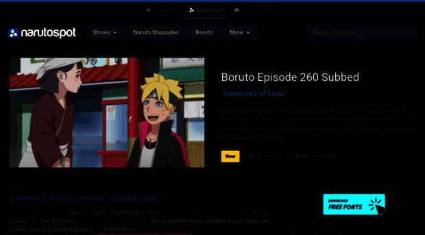 naruspot.me - Watch Boruto & Naruto Shippude... - Naruspot