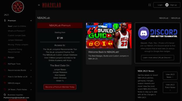 nba2klab com Nba2kLab - Nba2k Badge and Attribute tests, Attribute