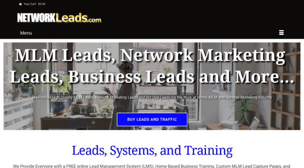 Home businessexclusive mlm lead