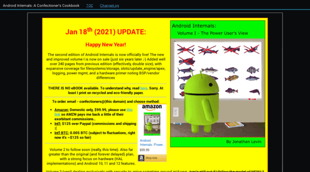 newandroidbook com - Android Internals: A Confectio    - New