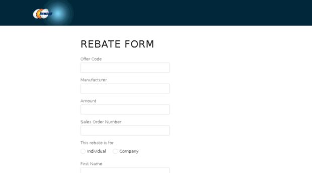 newegg.4myrebate - rebate form - newegg 4my rebate