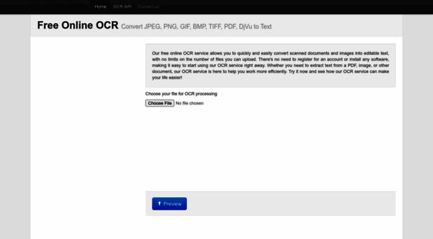 free online ocr http www newocr com