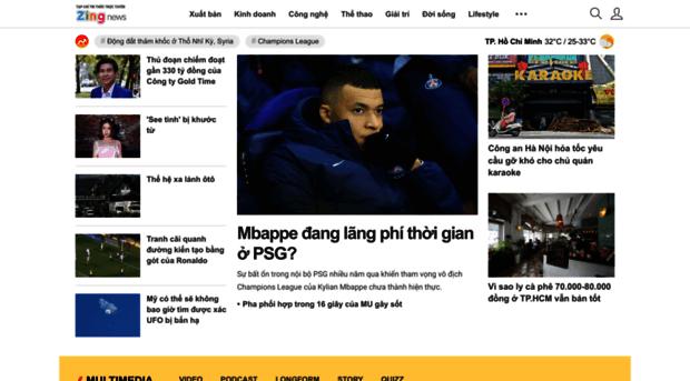 Zing.vn - Tin tức 24h, hình ảnh ấn tượng