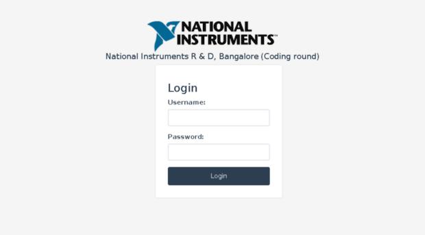nibcampusrec cloudapp net - National Instruments - Login