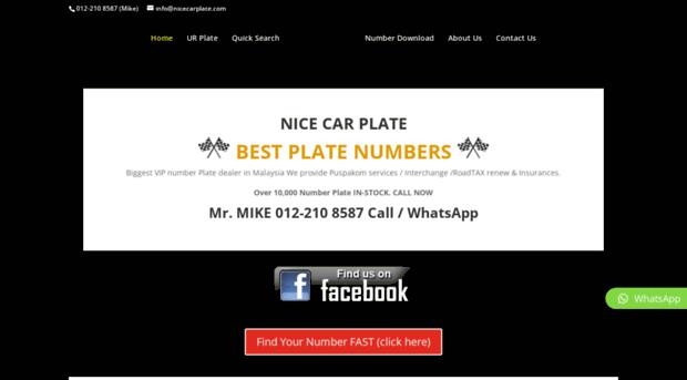 nicecarplatecom  Buy Number Plate Malaysia Bes  Nice Car Plate