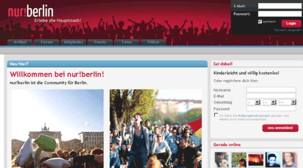 Berlin leute kennenlernen forum