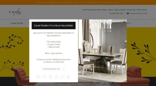 Canal Furniture | Modern Furniture | Contemporary Furniture | Modern B..