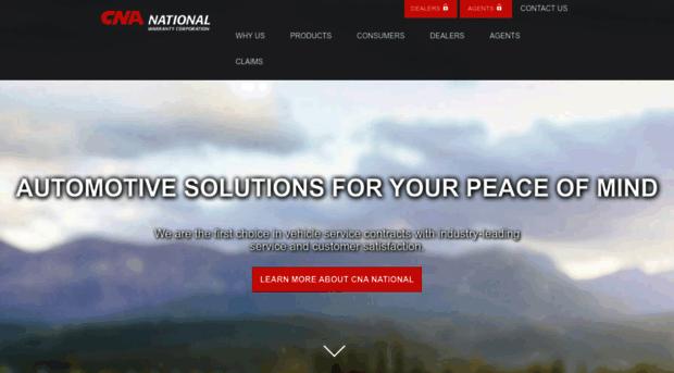 Cna National Warranty >> Oam Cnanational Com Cna National Warranty Corp I Oam Cna